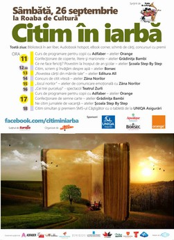 Afis mic A1 bleed allover 5mm citim in iarba 2015